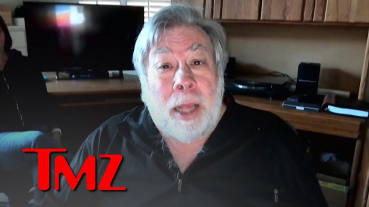 Steve Wozniak Says CDC Blew Him Off in January When He Had COVID Data | TMZ
