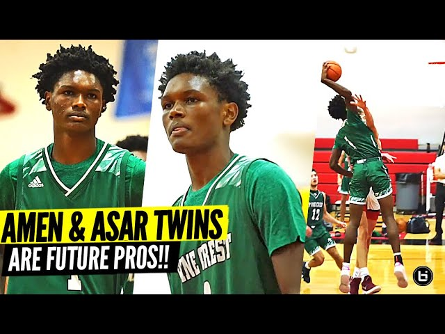 The BEST Twins In HIGH SCHOOL BASKETBALL!! Amen & Ausar Thompson Are Future Pros!
