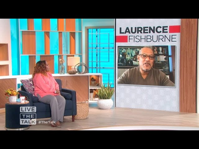 The Talk - Laurence Fishburne Reveals He Believes Aliens 'walk among us'