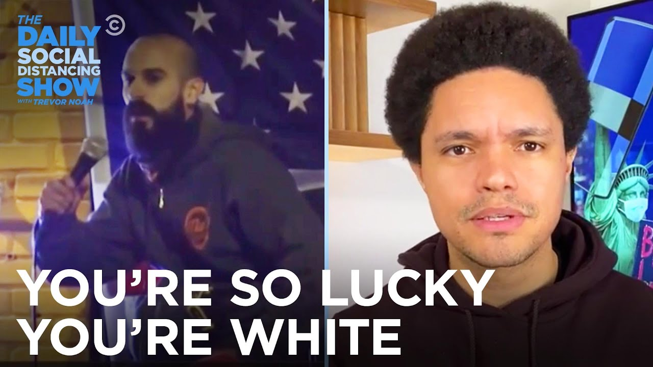 This Staten Island Bar Owner Who Hit a Cop Is So Lucky He's White | The Daily Social Distancing Show