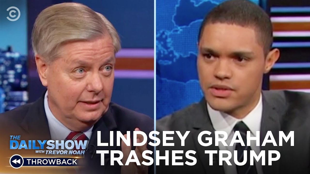 What Happened to Lindsey Graham?   The Daily Show