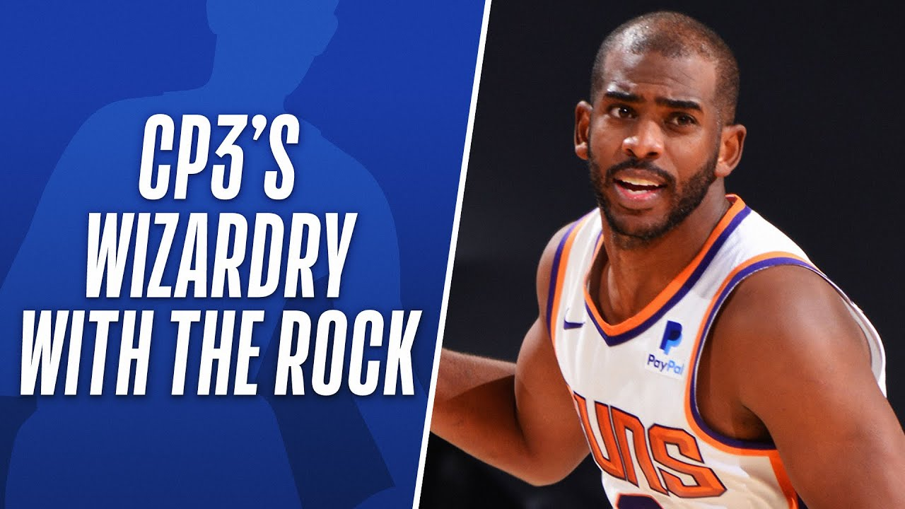 Where Else Can You See CP3's WIZARDRY With The Rock? #OnlyHere