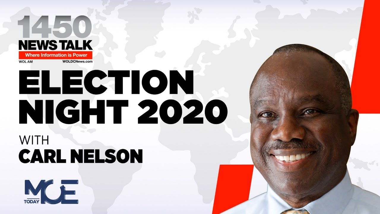 WOL ELECTION NIGHT 2020 WITH CARL NELSON