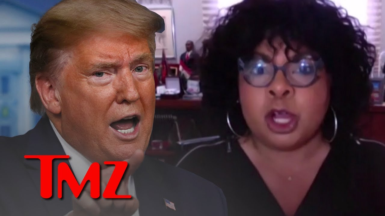 25th Amendment Discussed as Best Option to Oust Trump says April Ryan | TMZ