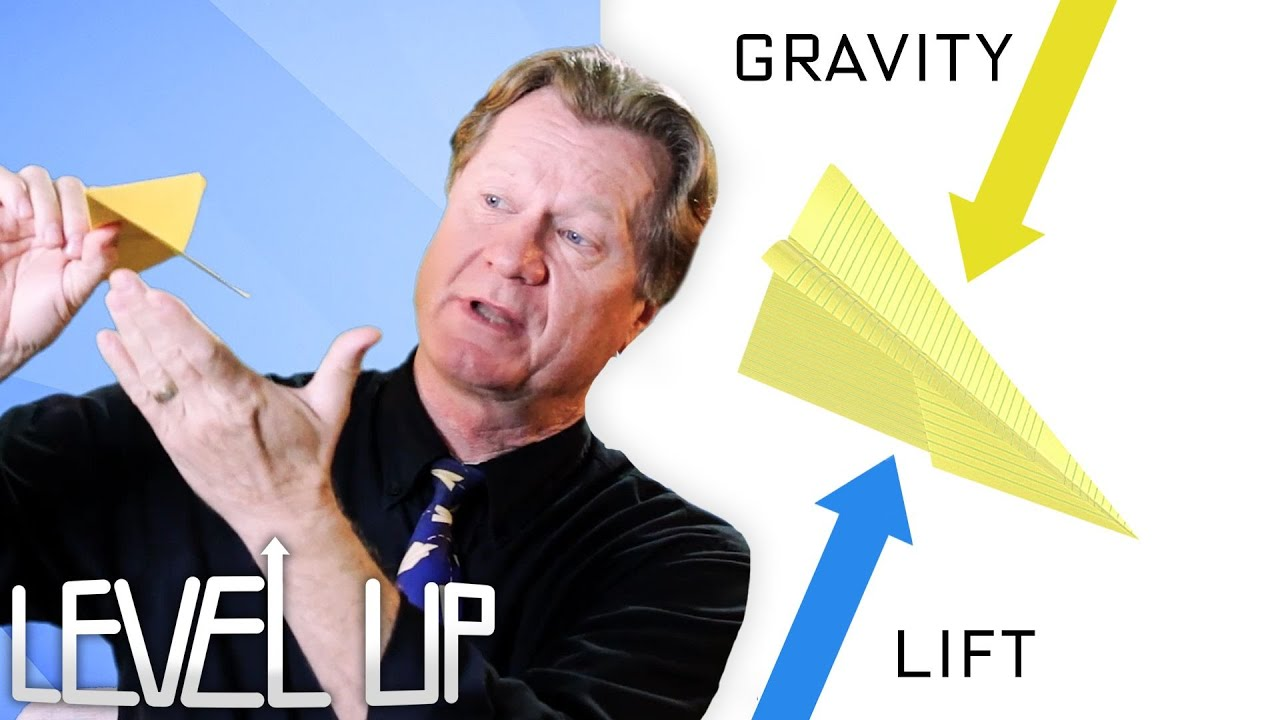 Aerodynamics Explained by a World Record Paper Airplane Designer | Level Up | WIRED