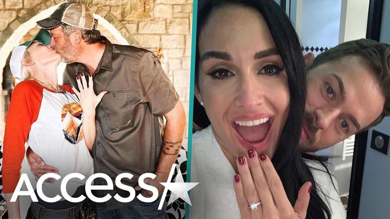 Biggest Celebrity Engagements Of 2020: Gwen Stefani, Nikki Bella And More!