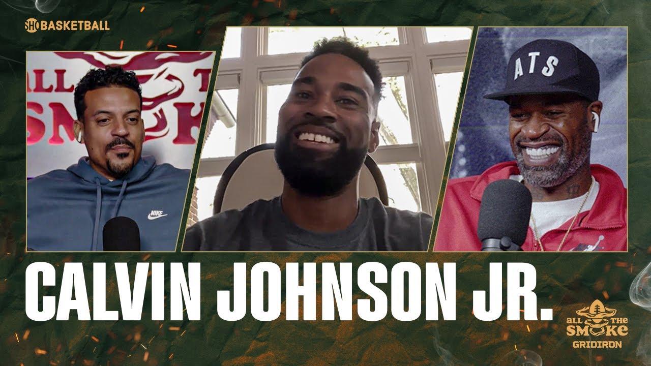 Calvin Johnson Jr. | Ep 56 | ALL THE SMOKE Gridiron | SHOWTIME