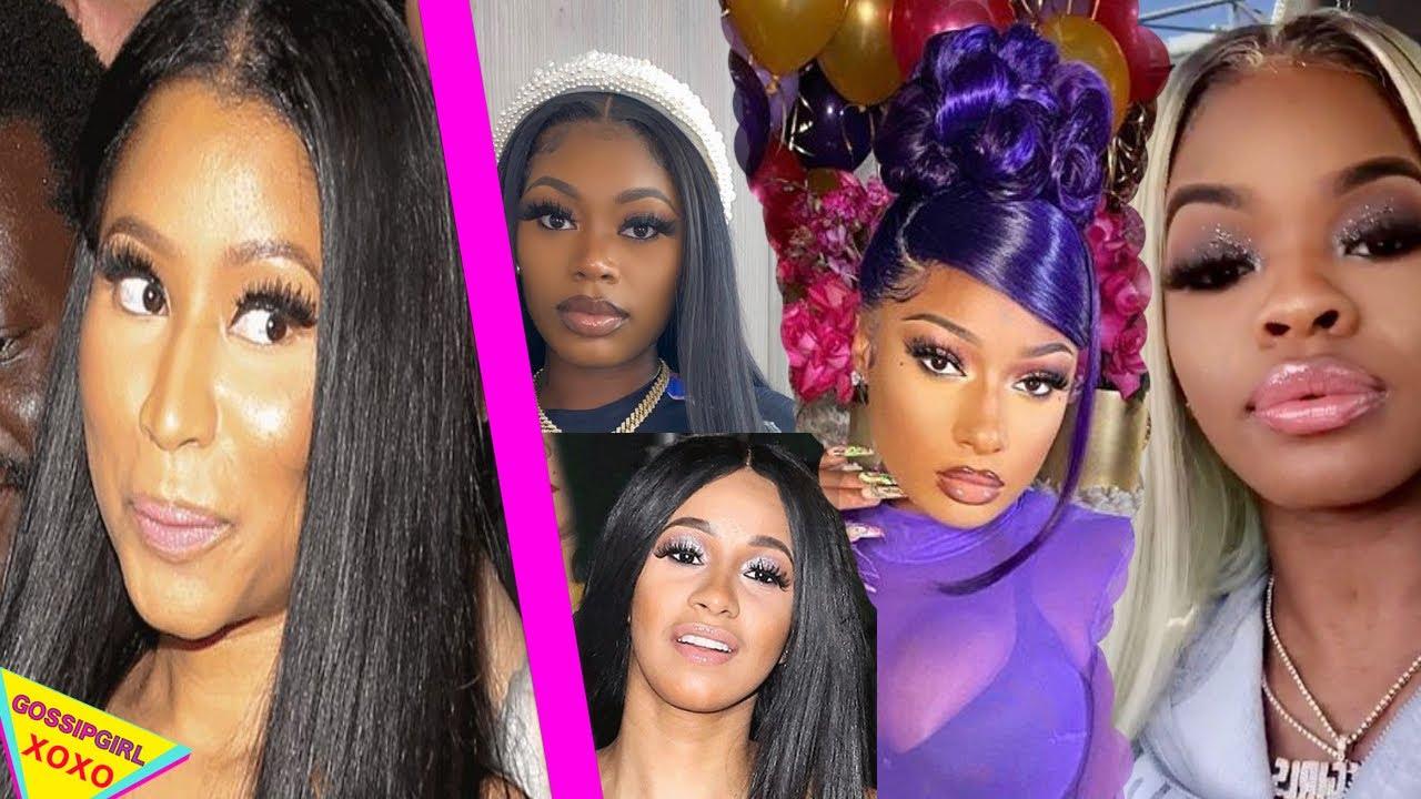 Cardi B is a Nicki Minaj FAN, Asian Doll want to put PAWS on JT City Girls Blame Megan Thee Stallion