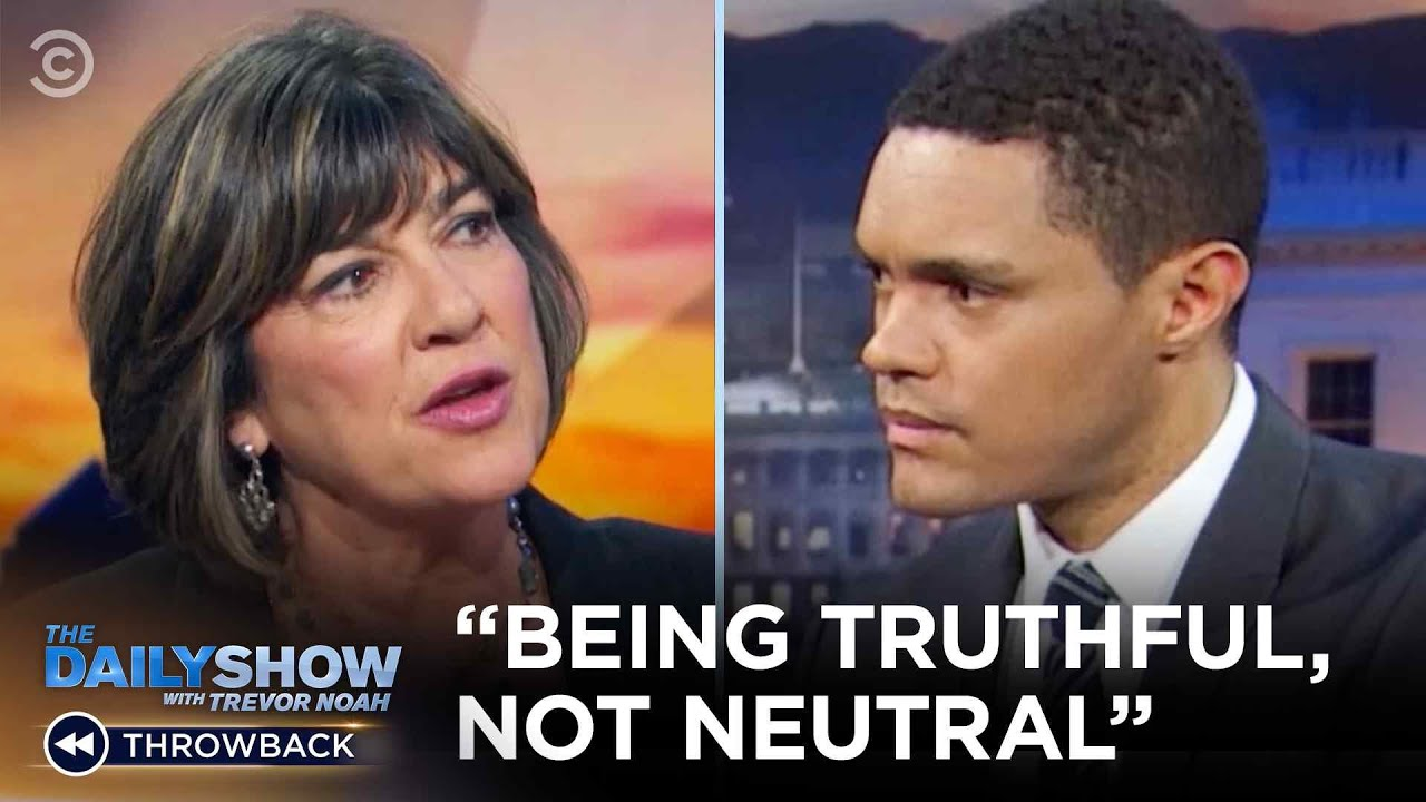 "Christiane Amanpour - Being ""Truthful, Not Neutral"" 