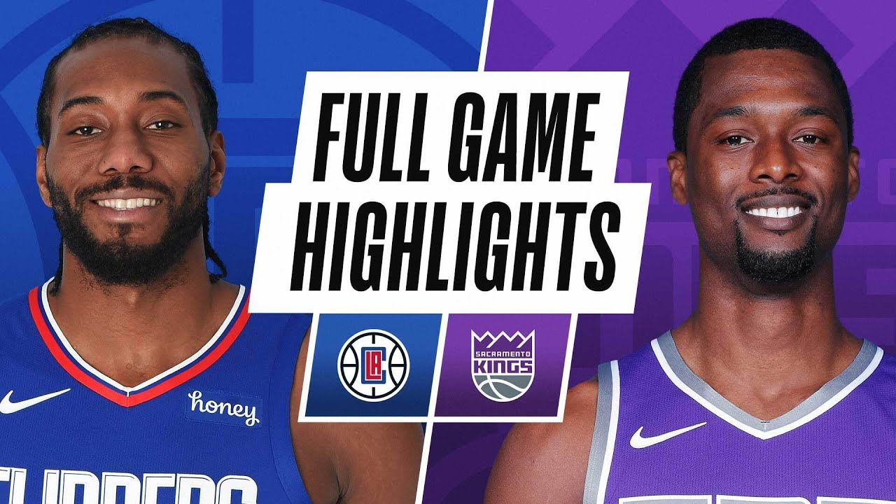 CLIPPERS at KINGS | FULL GAME HIGHLIGHTS | January 15, 2021