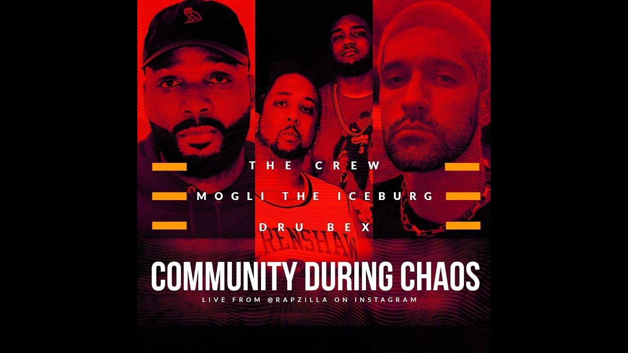Crew HipHop on Balance, Dru Bex on US & Canada Social Justice , Mogli the Iceburg on Racial Identity