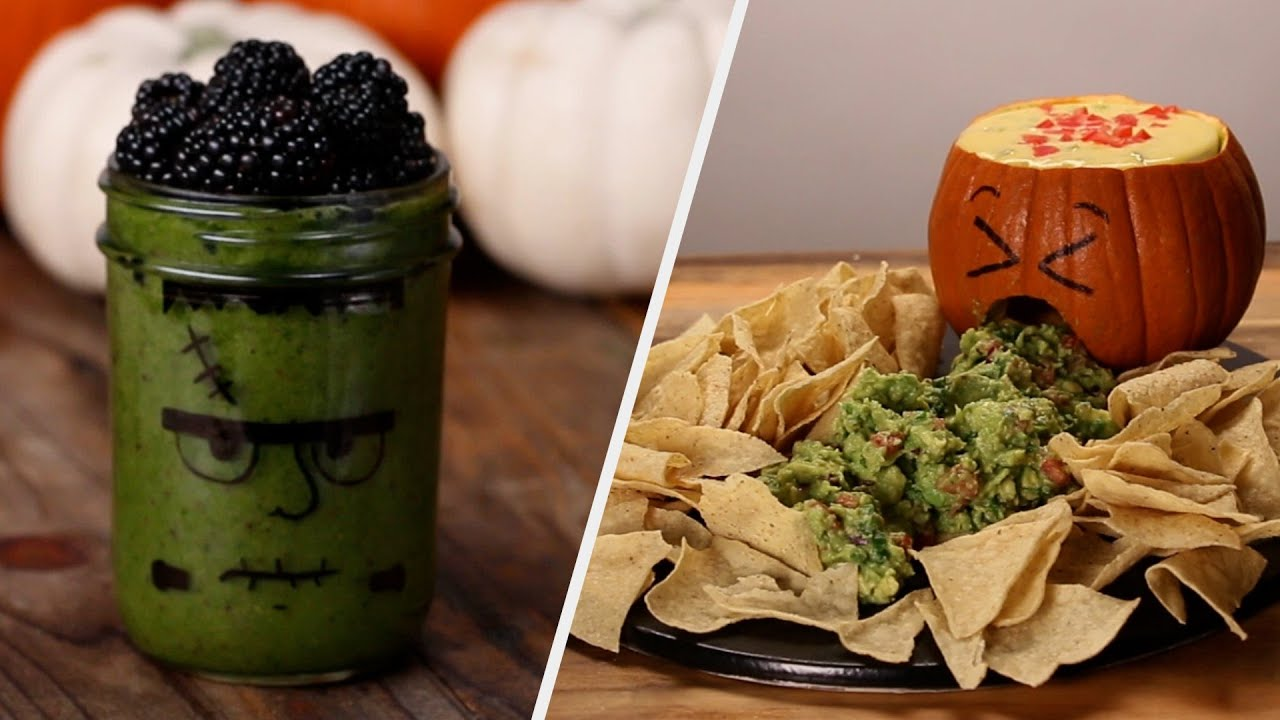 Easy Vegetarian Halloween Snacks
