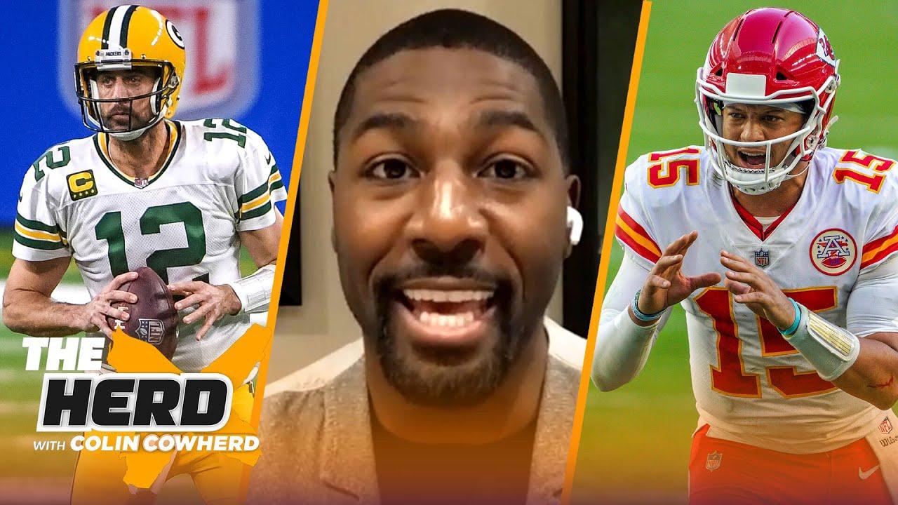 Greg Jennings on Aaron Rodgers vs. Patrick Mahomes MVP race, Big Ben & Baker | NFL | THE HERD