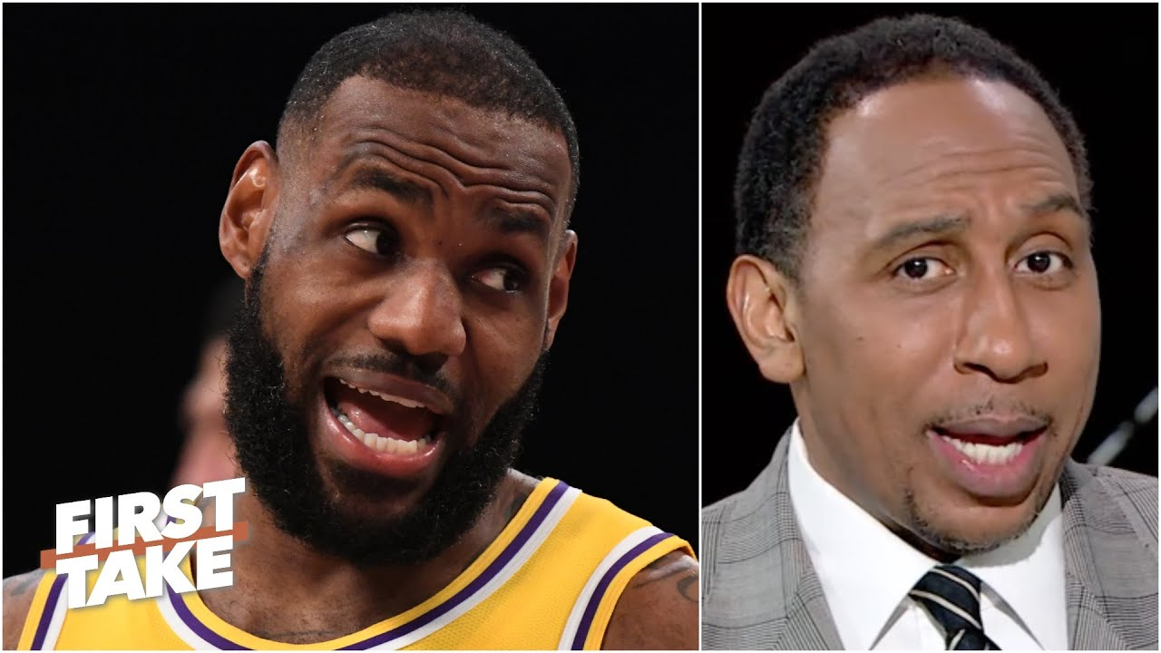 'Hell no, I'm not buying that!' - Stephen A. reacts to LeBron's postgame comments   First Take