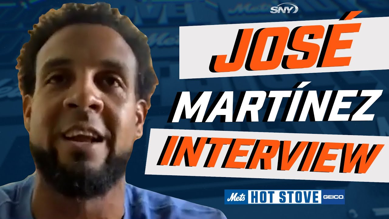 José Martínez explains why he chose to join the Mets | Mets Hot Stove | SNY