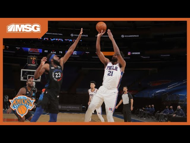 Knicks Collapse Again In 2nd Half, This Time To Sixers   New York Knicks