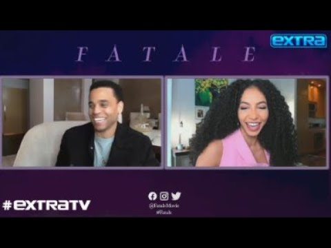 Michael Ealy Reacts to 'Fatale' Co-star Hilary Swank's Blushworthy Comments About His Acting