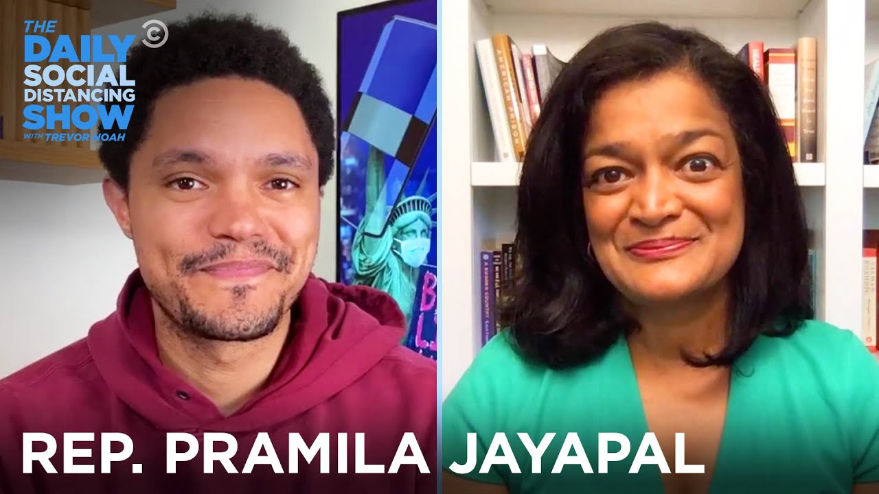 Pramila Jayapal - Political Change, Trump & The 2020 Election | The Daily Social Distancing Show