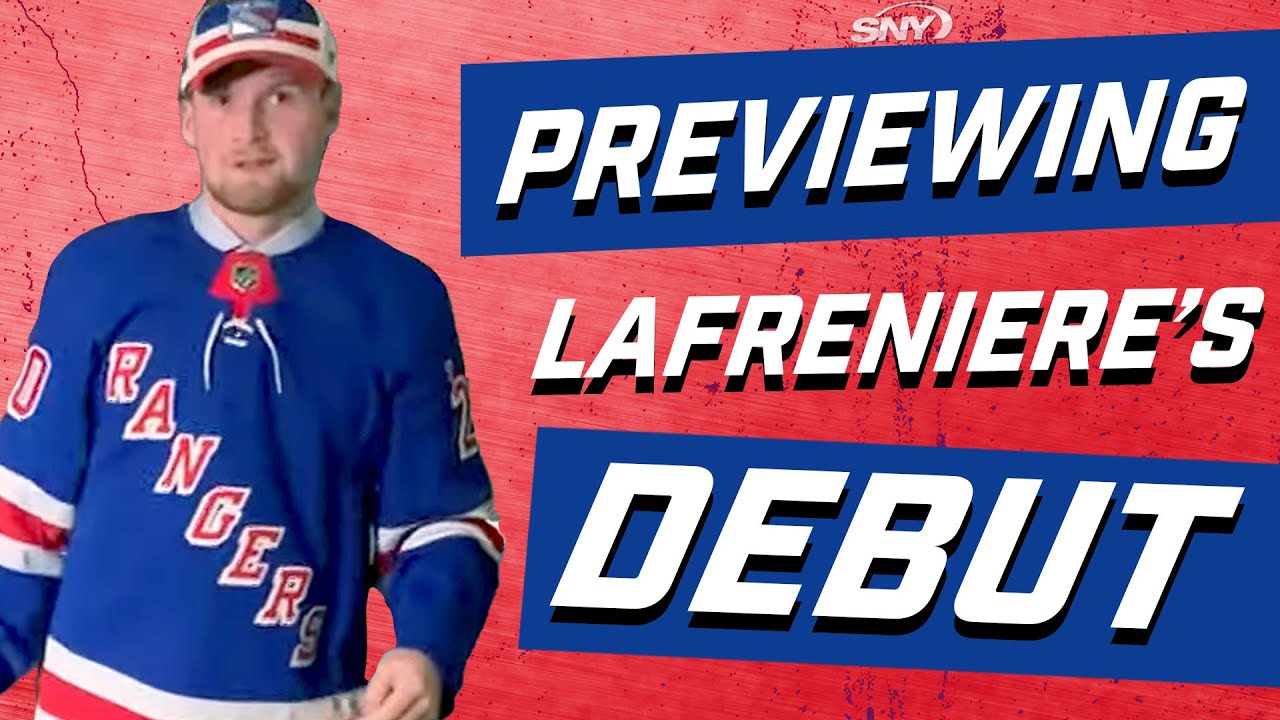 Previewing Rangers rookie Alexis Lafreniere's NHL debut | New York Rangers | SNY