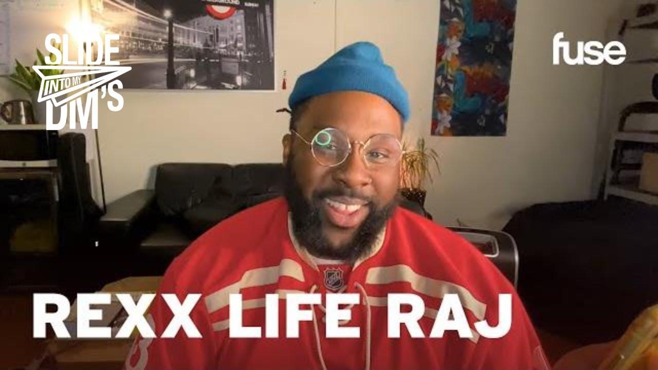 Rexx Life Raj Reveals His Tastiest DMs | Slide Into My DMs | Fuse