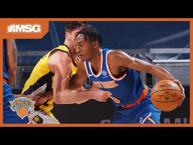 RJ Barrett & Knicks Start Hot, But Quickley Gets Hurt in Season-Opening Loss to Pacers
