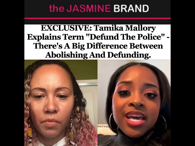 """Tamika Mallory Explains Term """"Defund The Police"""""""