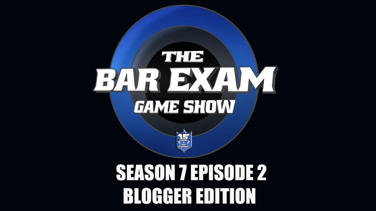 THE BAR EXAM GAME SHOW SEASON 5 EPISODE 4 TRAILER