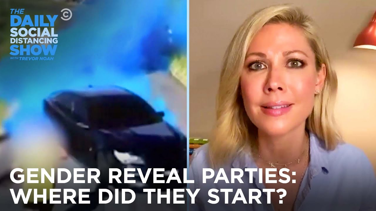 The Woman Who Started Gender Reveal Parties Wants Them to Stop | The Daily Social Distancing Show