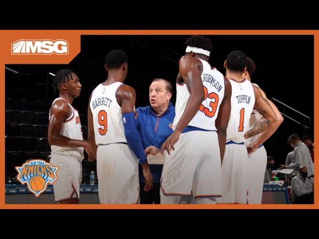 Tom Thibodeau Talks Coaching Style Ahead Of The Knicks Season Opener on Wednesday   New York Knicks
