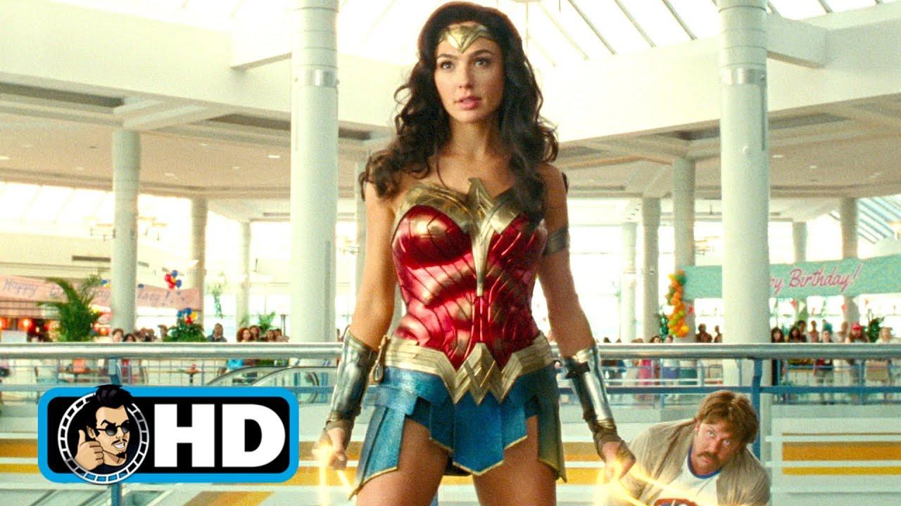 """WONDER WOMAN 1984 """"Mall Fight"""" Movie Clip (2020) Gal Gadot"""