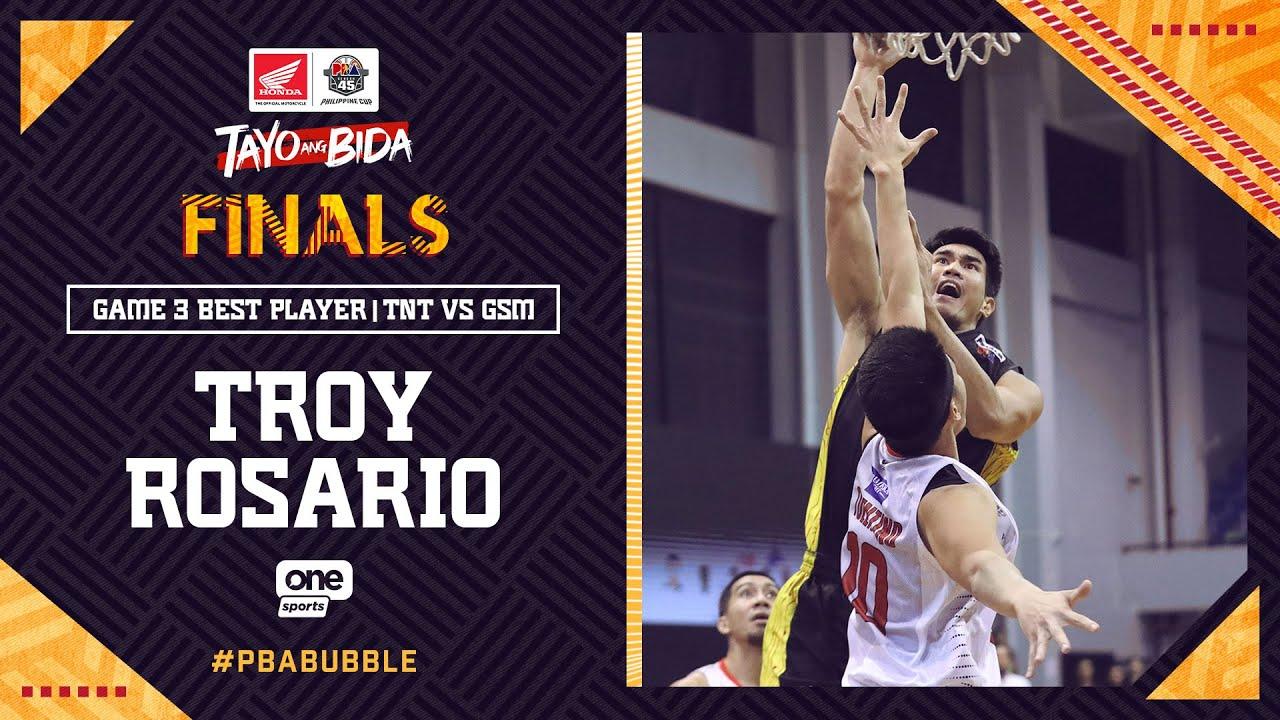 Best Player: Troy Rosario | PBA Philippine Cup 2020 Finals