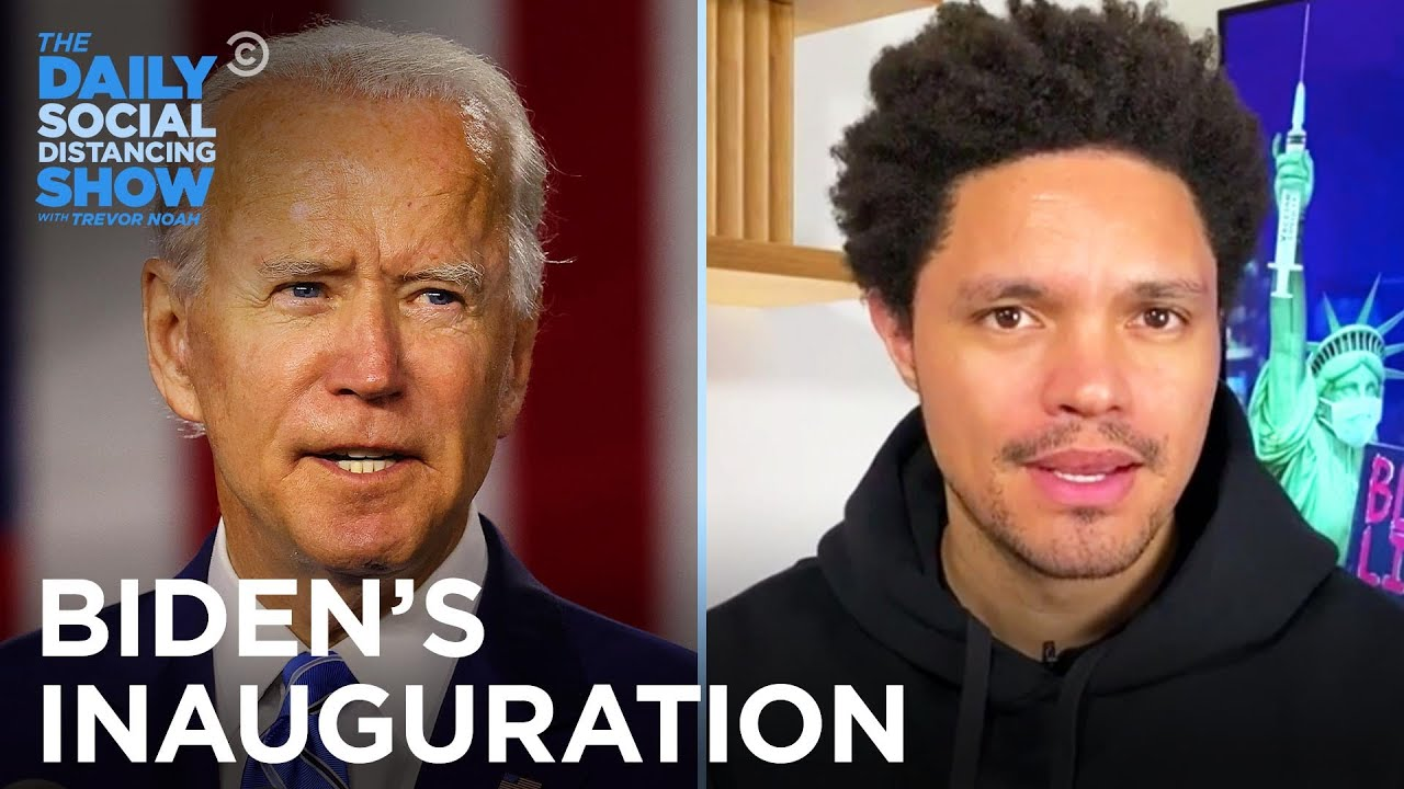 Biden's Inauguration Has U.S. Capitol on High Alert   The Daily Social Distancing Show