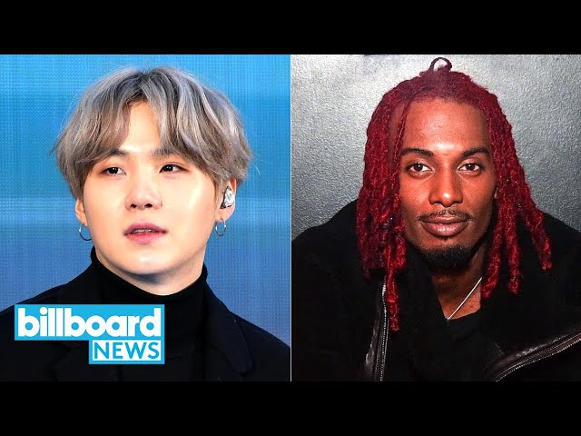 BTS' Suga Talks Shoulder Recovery, Playboi Carti's First No. 1 Album & More | Billboard News