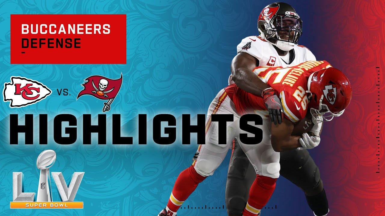 Bucs Defense SHUTS DOWN Kansas City | Super Bowl LV Highlights