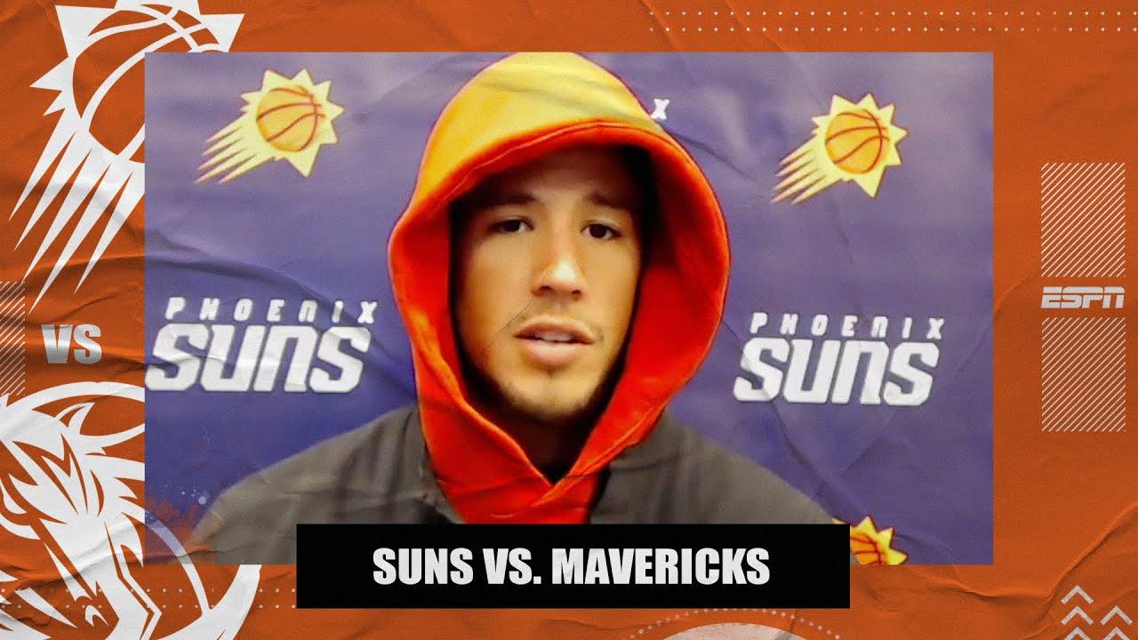 Devin Booker on hitting the game-winning shot vs. the Mavericks in return from injury | NBA on ESPN