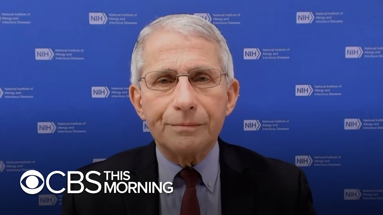 Dr. Anthony Fauci on COVID-19 vaccination efforts, school reopenings