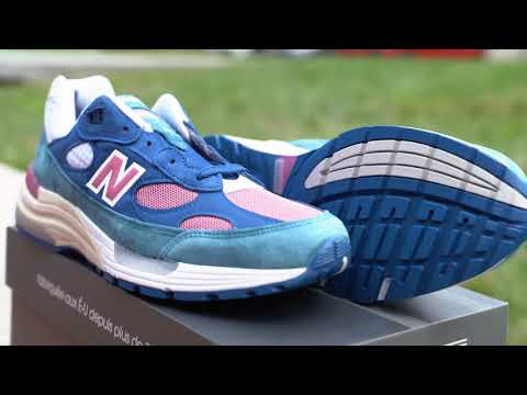 """For The DMV Culture ! 9/1 New Balance 992 """"Tropical"""" (Dope or Nope) + On Foot !"""