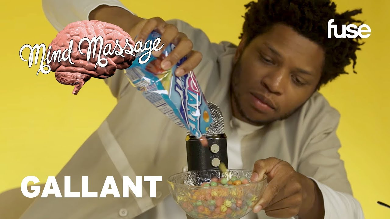 Gallant Does A Sweet-Tooth Inspired ASMR, Talks New Album & Self Reflection | Mind Massage | Fuse