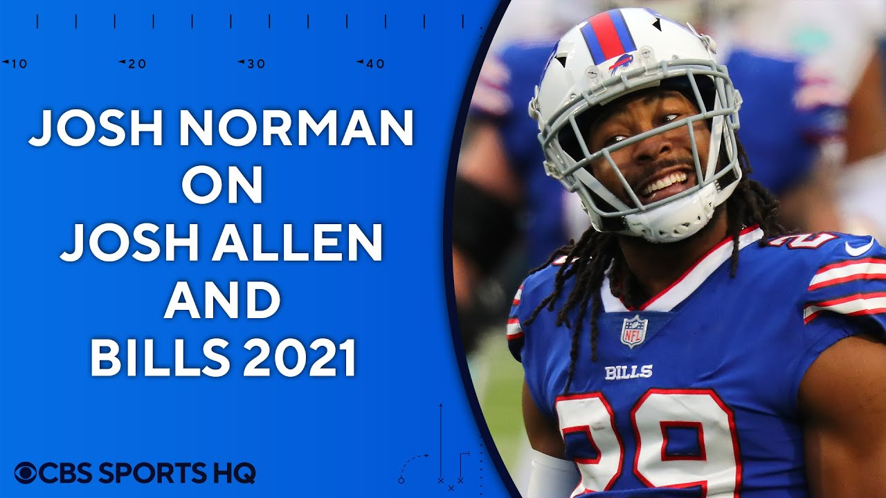 "Josh Norman on Josh Allen: ""You can see his growth"" 