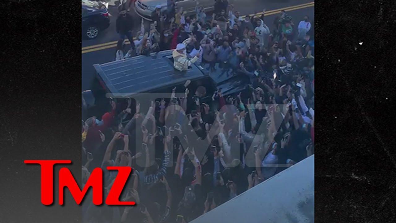 Maluma's Miami Meet-and-Greet Shut Down By Cops, Not COVID Safe | TMZ