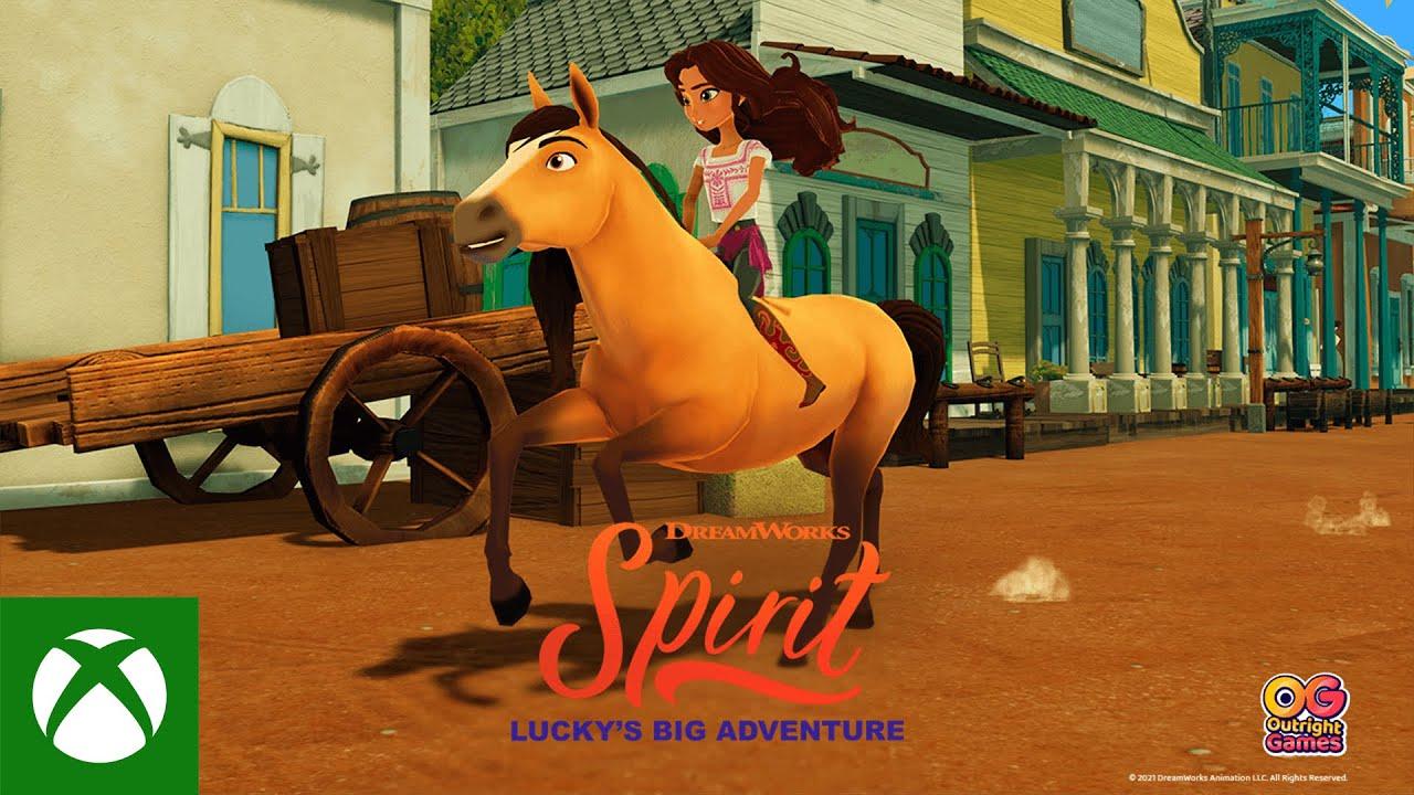 Spirit Lucky's Big Adventure - Announce Trailer