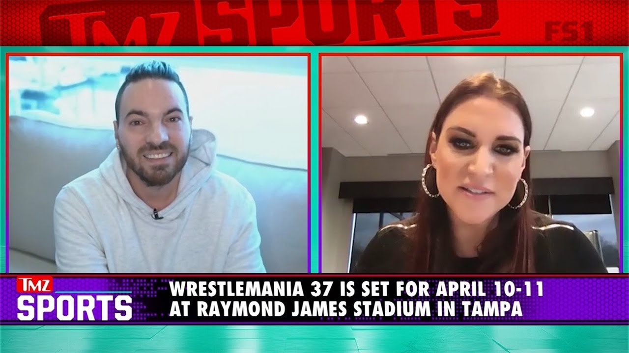 Stephanie McMahon Says WWE Plans To Have Live Audience At WrestleMania 37 | TMZ Sports