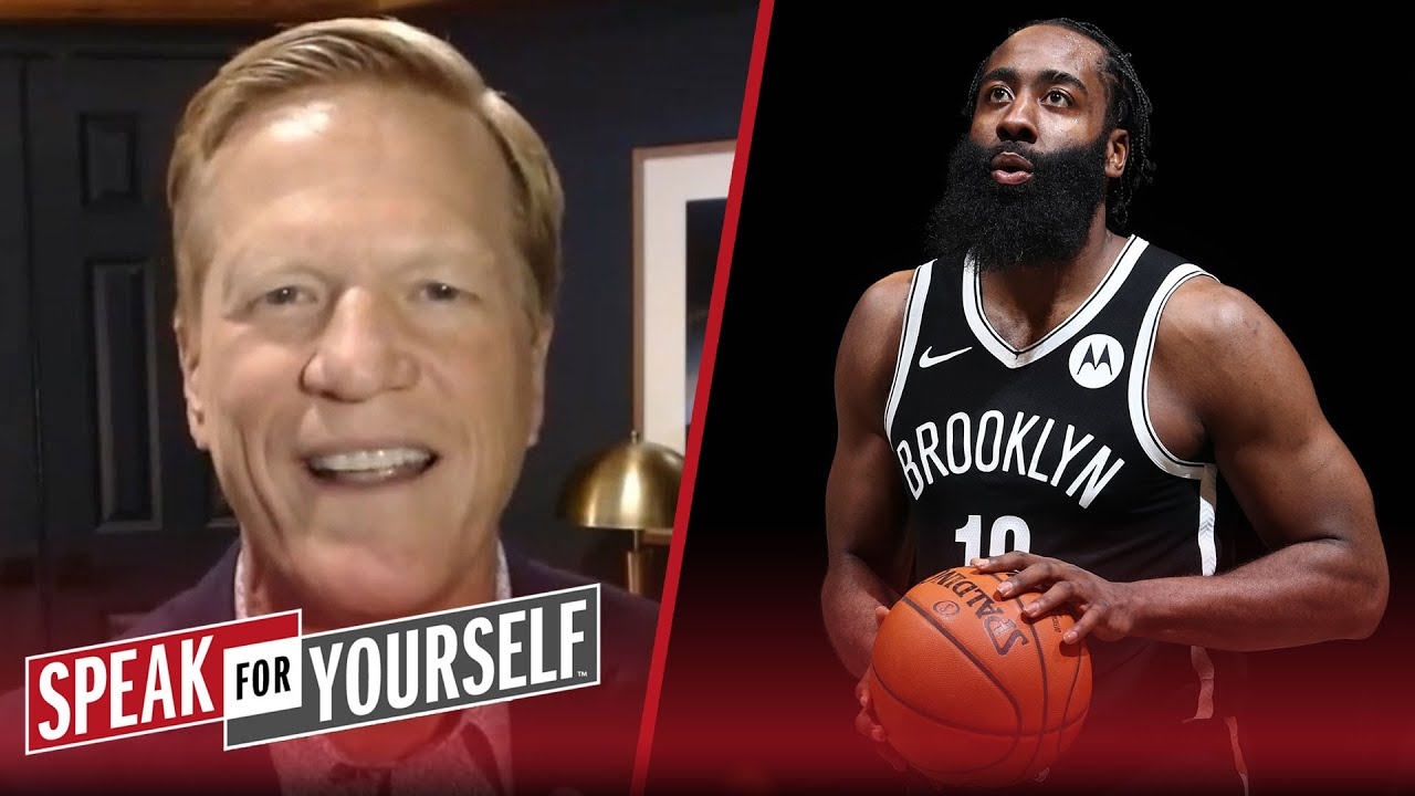 Success of Nets experiment depends on Kyrie & James Harden's chemistry | NBA | SPEAK FOR YOURSELF