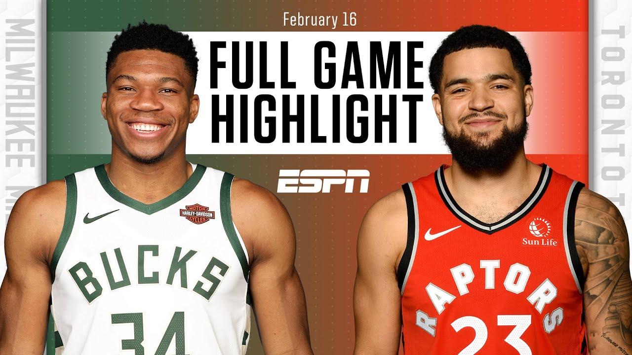 Toronto Raptors vs. Milwaukee Bucks [FULL GAME HIGHLIGHTS] | NBA on ESPN