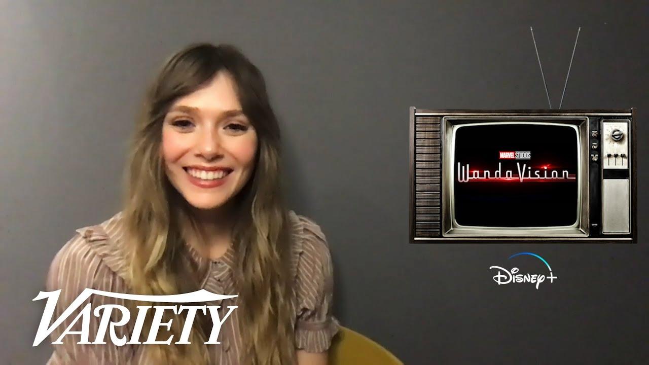 'WandaVision's' Elizabeth Olsen Reveals How She Transformed For Every Episode