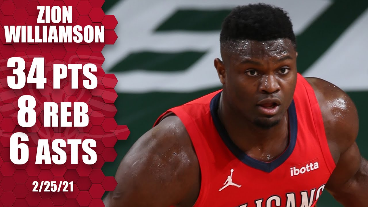 Zion Williamson puts up 34 points in loss to Bucks on the road [HIGHLIGHTS] | NBA on ESPN