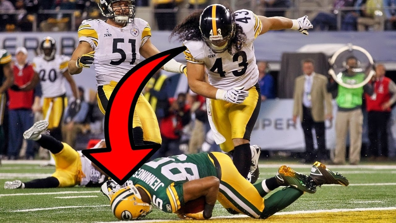 10 NASTIEST Hits In Super Bowl History (HERE COMES THE BOOM!)