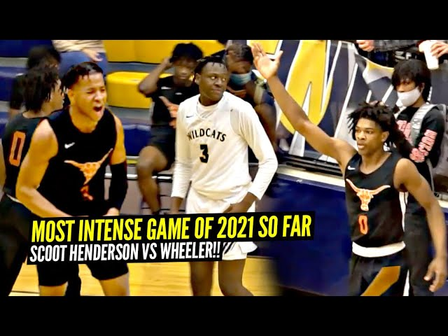 5 Star Scoot Henderson vs 5 Star Isaiah Collier GO AT IT!! Most INTENSE Game of 2021 SO FAR!