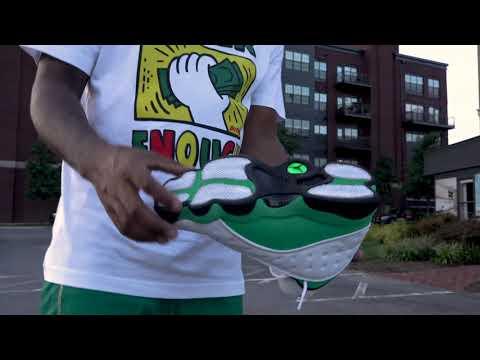 "Air Jordan 13 ""Lucky Green"" (Dope or Nope) with the BEST On Foot via @PATisDOPE !"
