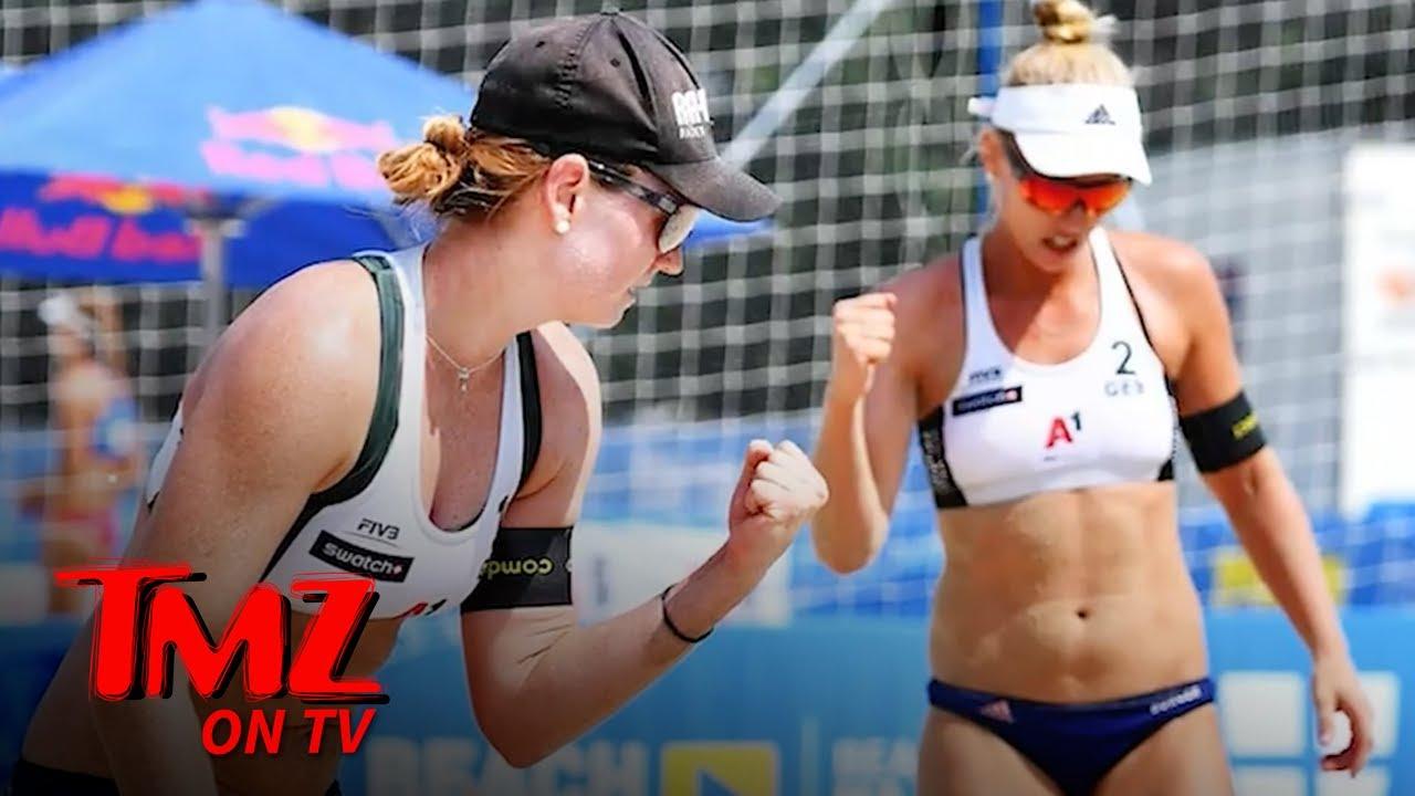 Beach Volleyball Stars Boycotting Qatar Tourney Over Skimpy Bikini Ban | TMZ TV